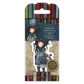 Docrafts Gorjuss Rubber Stamp - No.29 The Hatter