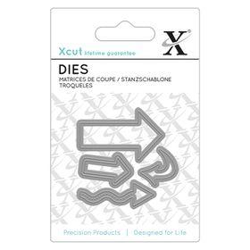 Xcut Mini Dies - Arrows