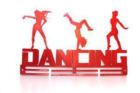 TrendyShop DC Dancing 3-figure Medal Hanger - Red