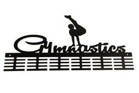 TrendyShop DC Gymnastics Male Floor Medal Hanger - Black