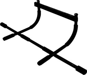 Medalist Deluxe Chin-Up Bar - Black