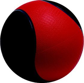 Medalist Medicine Ball - Red/Black
