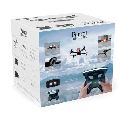 Parrot BeBop 2 Drone with FPV Bundle White | Buy Online in