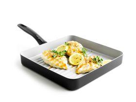 GreenChef - Everyday Value Ceramic Non-Stick Square Grill Pan - 26.9cm