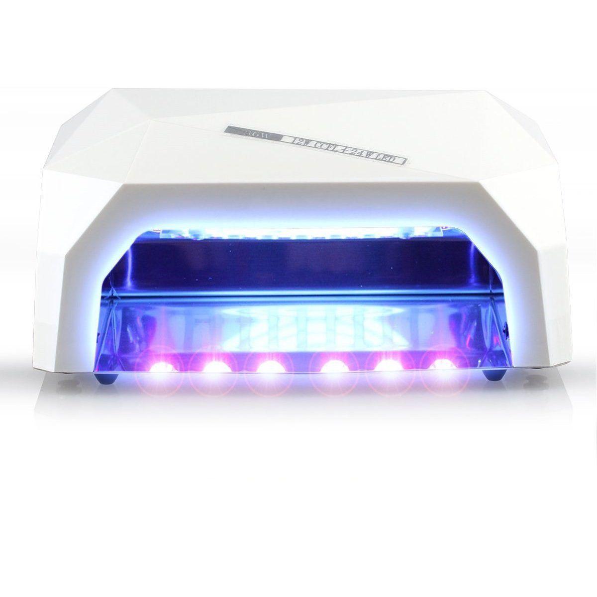 Nordik Beauty Professional Portable Gel Nail Dryer Uv & Led Lamp ...