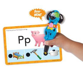 Learning Resources Hot Dots Jr. Card Sets - Beginning Phonics