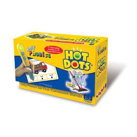 Learning Resources Hot Dots Jolly Phonics Consonant Blends