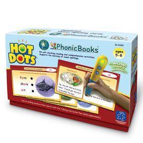 Learning Resources Hot Dots PhonicBooks Dandelion Readers Vowel Spellings Cards