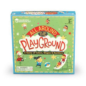 Learning Resources All Around The Playground Shapes, Colours and Counting Game
