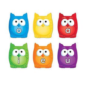 Learning Resources Vowel Owl Magnets