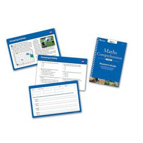 Learning Resources Maths Comprehension Cards - Year Group Three