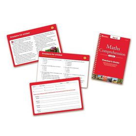 Learning Resources Maths Comprehension Cards - Year Group Four