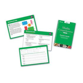 Learning Resources Maths Comprehension Cards - Year Group Five