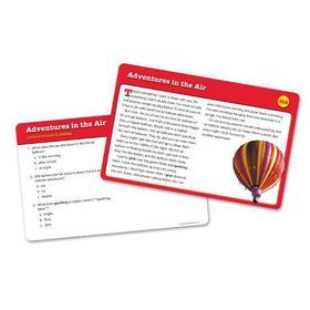 Learning Resources Reading Comprehension Cards - Year Group Four