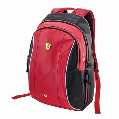 latest releases retail prices best wholesaler Ferrari Limited Edition Expandable Teen Backpack - Black/Red