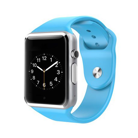 c45ab89765a543 A1 Bluetooth Smart Watch - Blue Smartwatch | Buy Online in South ...