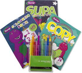 Barney Colouring Bundle