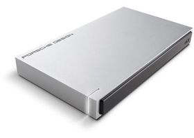 LaCie Porsche Design 2TB Mobile Drive USB3.0 - Light Grey