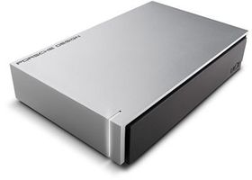 LaCie Porsche Design 3TB Desktop Drive USB3.0 - Light Grey