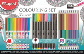 Maped Adult Colouring Set