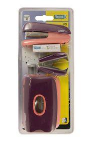 Rapid F5 Mini Set - Purple/Apricot