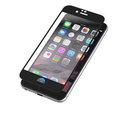 sports shoes 50928 20f7a Zagg InvisibleShield Glass Luxe for Apple iPhone 6/6S - Black
