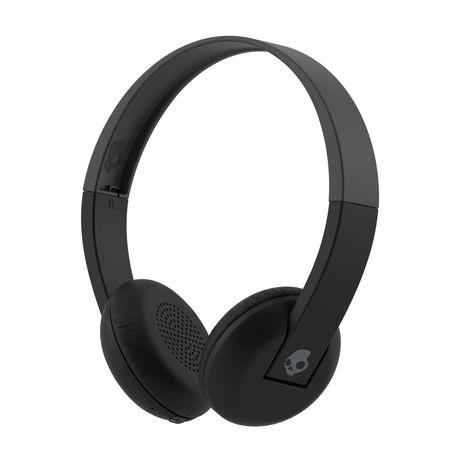 442e642b1cb SkullCandy Uproar Bluetooth Headphones - Black/Grey | Buy Online in ...