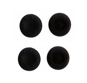 MegaModz 4 Silicone Caps for Analog Sticks for Xbox One/PS4/PS3/Xbox 360 - Black