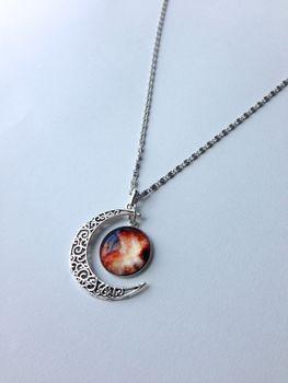 Lakota Inspirations Fiery Passion Galaxy Necklace