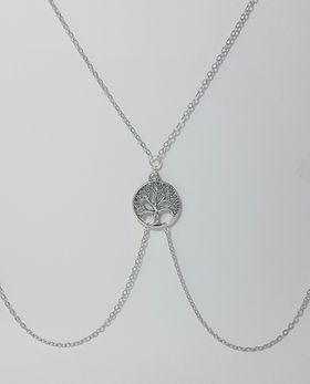 Lakota Inspirations Silver Tree of Life Body Chain