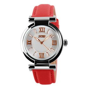 Skmei Ladies Watch - Red