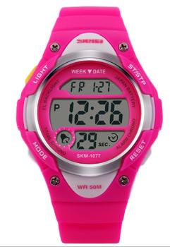 Skmei Children's Fashion Watch - Pink