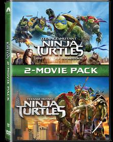 Teenage Mutant Ninja Turtles 1 & 2 (DVD)