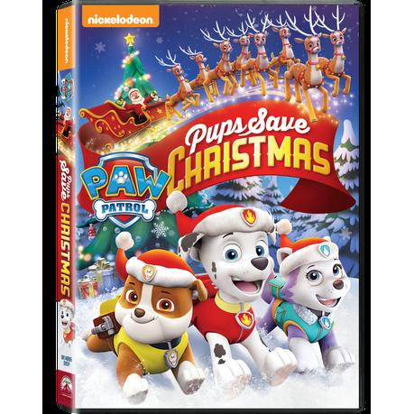 Save Christmas.Paw Patrol Pups Save Christmas Dvd
