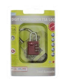 Motoquip 3 Digit TSA Combo Lock