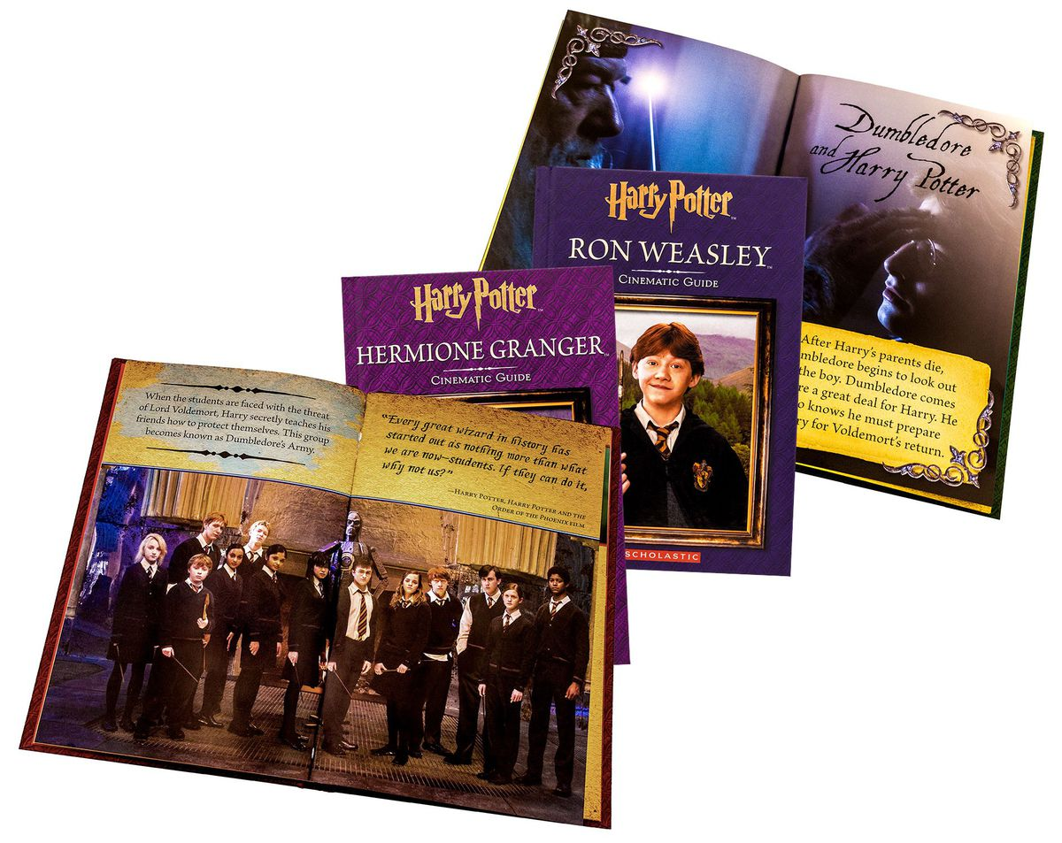 Harry Potter Book Guide : Harry potter cinematic guide collection books