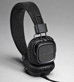 Marshall Major II PBLK On Ear Headphones - Black