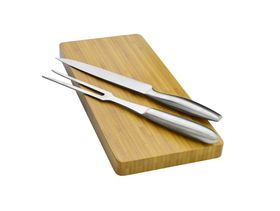 Eetrite - Carving Set with Board - 3 Piece
