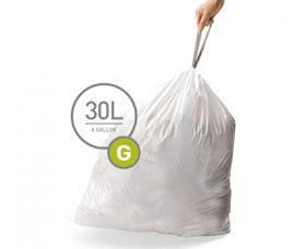 SimpleHuman - Liner Code G - 30 Litre
