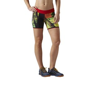 Women's Reebok Crossfit Chase Mid Bootie Primed Shorts