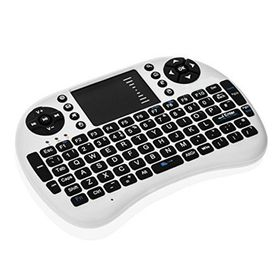 Mini Wireless Keyboard & Mouse Combo - White