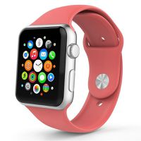 Ökotec Soft Silicone Apple Watch 38mm Sports Band Strap - Coral Pink