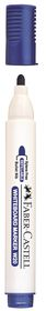 Faber-Castell Whiteboard Bullet Point Markers - Blue (Box of 12)