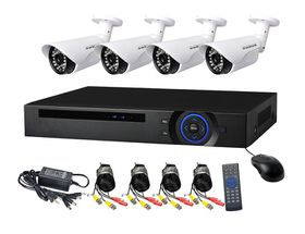 Real AHD CCTV Direct - 4 Channel cctv camera system - Full Kit Perfect security cameras