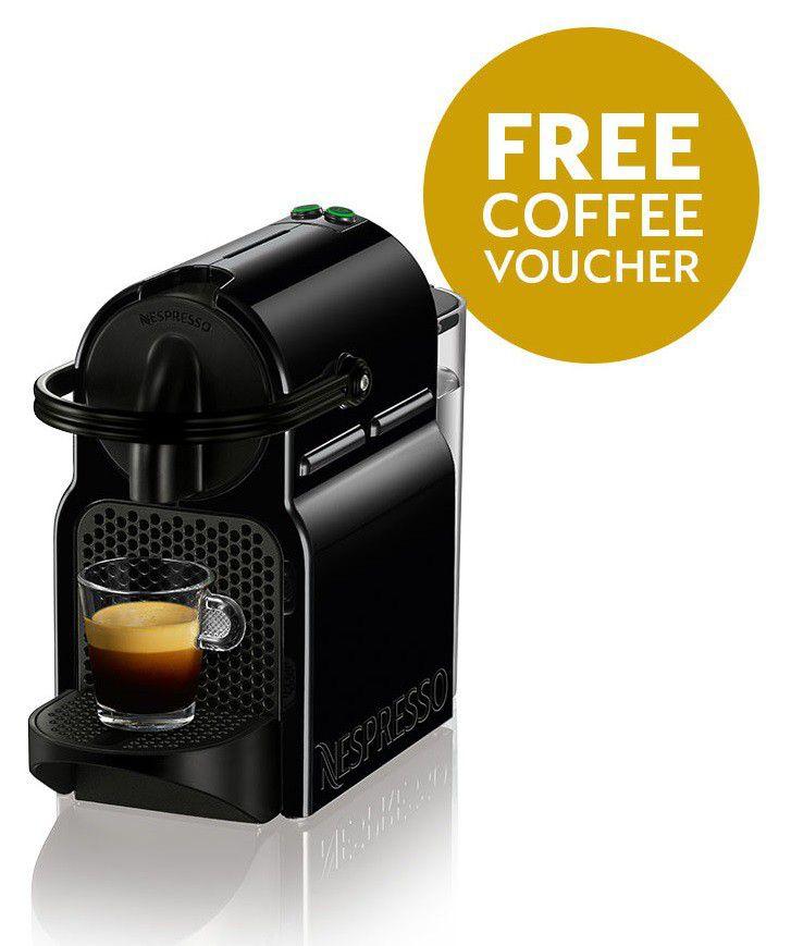 Nespresso - Inissia - Black - D40-ZA-BK-NE | Buy Online in South ...