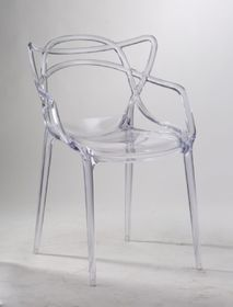 Patio Style - Replica Master Chair - Clear Acrylic