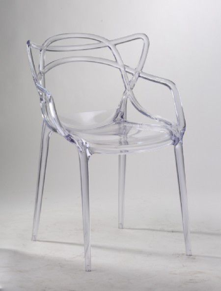 Patiostyle Patio Style Replica Master Chair Clear Acrylic - Clear perspex chairs