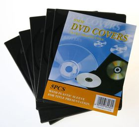 Bulk Pack 5 x DVD Cover, Holds 2 Pack of 5