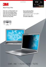 "3M 17.3"" Widescreen Laptop Privacy Filter"