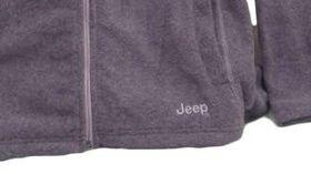 Jeep Womens Polar Fleece in Grey Melange